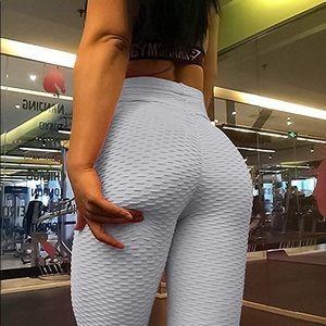 Sexy Grey Scrunchbutt leggings - MEDIUM